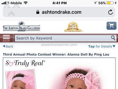 The Ashton Drake Galleries So Truly Real Allana Doll review 253452
