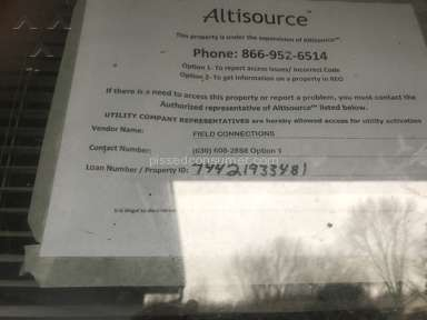 Altisource Solutions - Illegal locks put on door