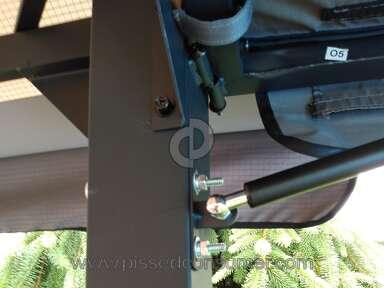 Backyard Creations - Poorly manufactured gazebo/canopy