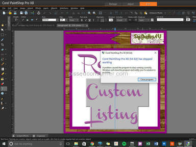 Corel Paintshop Pro X9 Ultimate Graphics Software review 158132