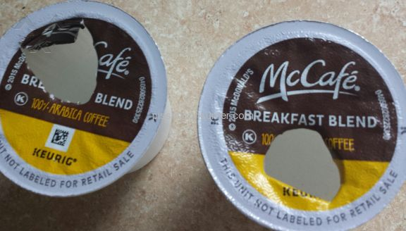 Mcdonalds Mccafe Breakfast Blend Coffee Pods