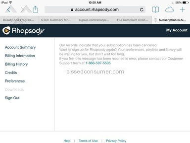 Rhapsody Subscription review 44165