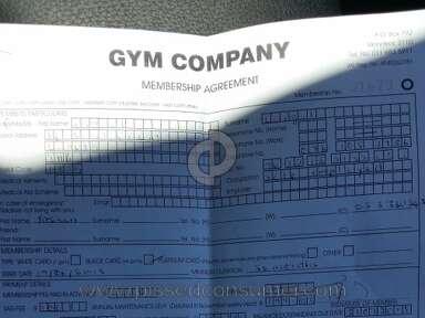 Gym Company Membership review 96665