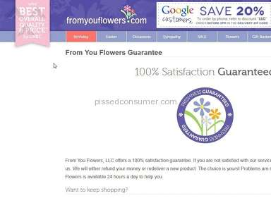 From You Flowers Flowers review 121507