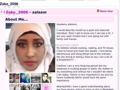Singlemuslim Online Dating review 122707