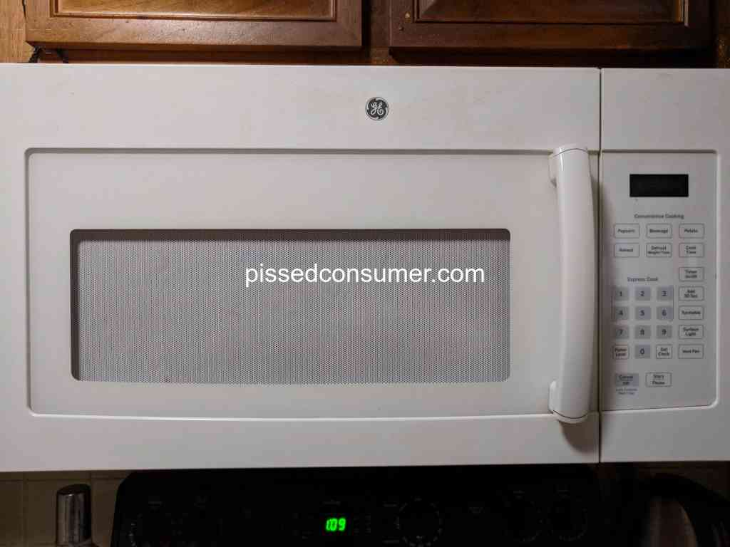 1157 Ge Appliances Reviews And Complaints Pissed Consumer