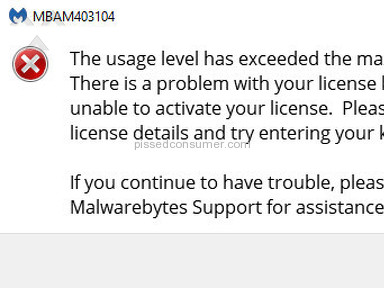 Malwarebytes V3. Never worked well. Non-existent support.