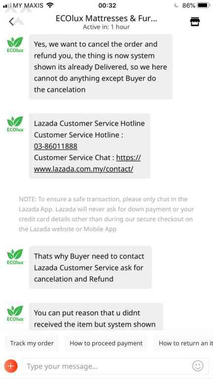 295 Lazada Malaysia Customer Care Reviews and Complaints