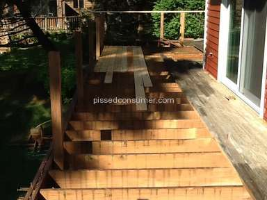 Vision WoodWorks Deck Building Service review 131603