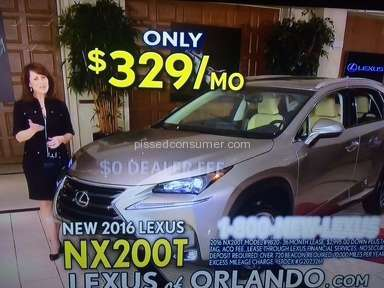 Lexus of Orlando Dealers review 120193