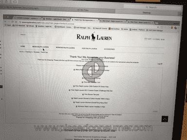 Ralph Lauren Home Customer Care review 322136