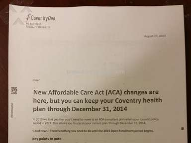 Coventry Health Care Claim review 57811