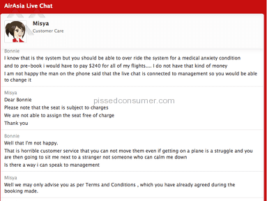 Air Asia Customer Care review 126693