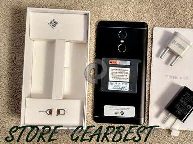 Покупка телефона xiaomi redmi note 4x В магазине Gearbest.