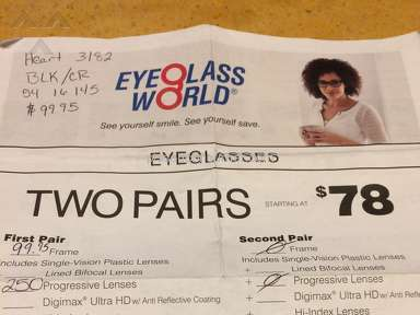 Eyeglass World - Simple Review #1477853260