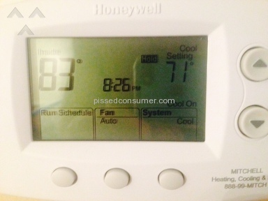 Mitchell Plumbing Heating And Cooling - Complete AC Consumer rippoff