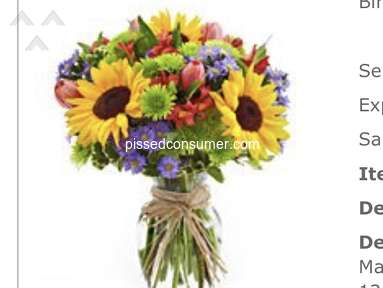From You Flowers - Extremely disappointed