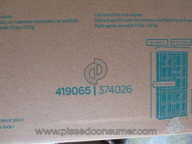 Sauder Furniture New Grange Cabinet review 174926