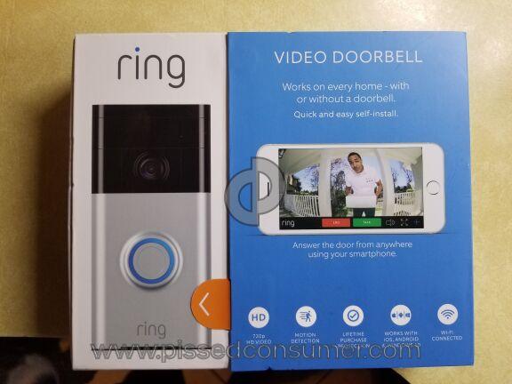 Ring Security Doorbell