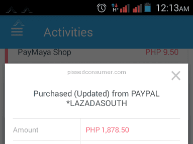 Lazada Philippines - Cancelled Order, Money Floating