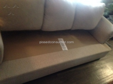 Living Spaces Sofa review 161258