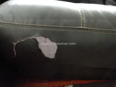Sofa Mart Barracuda Leather Sofa review 172654