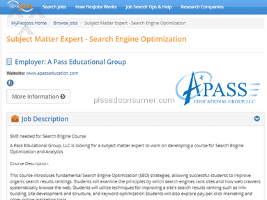 A Pass Educational Group Education review 107197