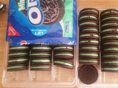 Oreo - Mint Cookies Review from Ripon, California