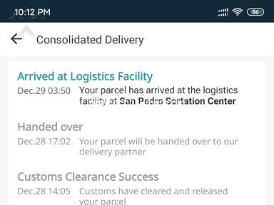 Lazada Philippines Lazada Express Philippines Courier Delivery Service review 495117