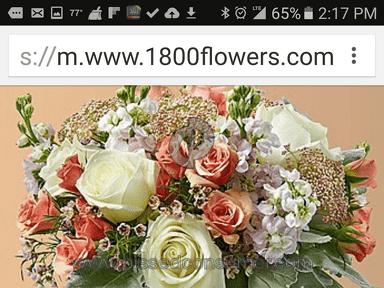 1800flowers Spring Medley Arrangement review 131921