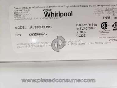 Whirlpool Wrv986fdem01 Refrigerator review 386861