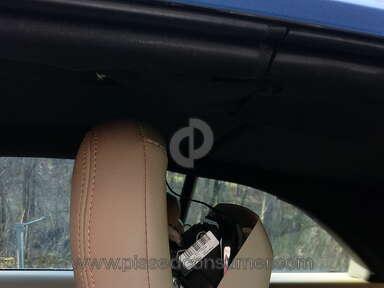 Chrysler 200 active head restraint (headrest)deployed
