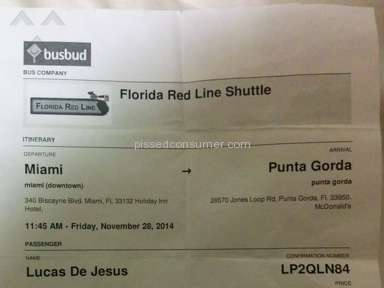 Florida Red Line Shuttle Transport review 57835