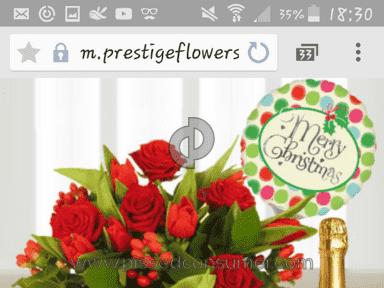 Prestige Flowers Bouquet review 105489