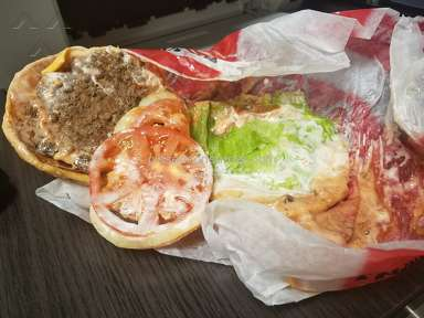 Carls Jr Restaurant - Famous Star Burger Review from Las Vegas, Nevada