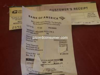 Bank Of America Checking Account review 476257