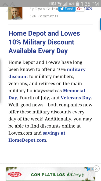 Claim: A Home Depot manager in Spokane Valley, WA, rudely refused to provide a veterans discount to a get-books.mlen.