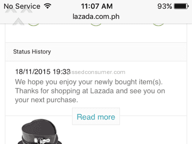 Lazada Philippines Auctions and Marketplaces review 98195