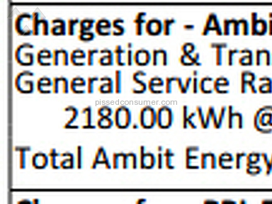 Ambit Energy - Doubled my Rate Increase