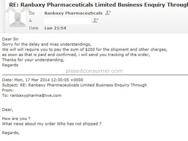 Ranbaxy Pharmaceuticals Limited Pharmacy review 36807