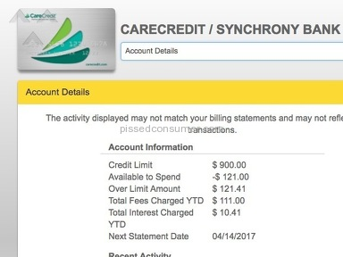 CareCredit has misleading late payments even within the interest default window