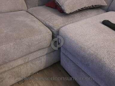 The Room Place Platinum Fabric Sofa review 184026