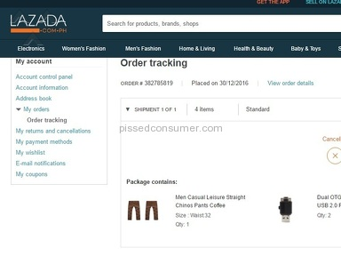 Lazada Philippines Website review 183690