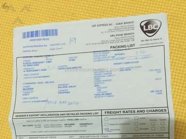 Lbc Express Shipping review 79127