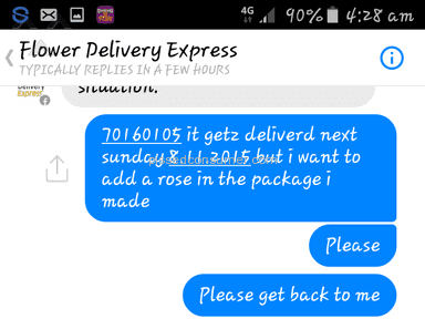 Flower Delivery Express Arrangement review 95337