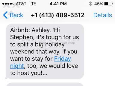 Airbnb House Booking review 155996