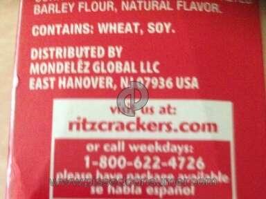 Ritz Crackers Crackers review 51833