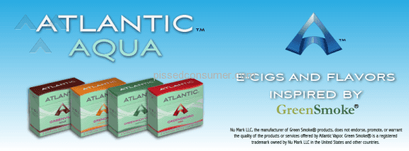 Atlantic Aqua Greenwich Village Electronic Cigarette Refill