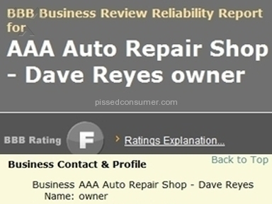 American Automobile Association Service Centers and Repairs review 8445