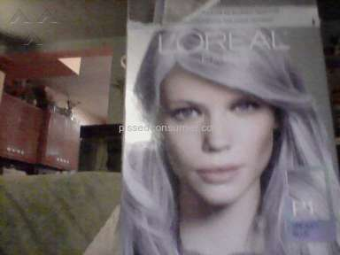 Loreal Usa Smokey Pastels Hair Dye review 154926